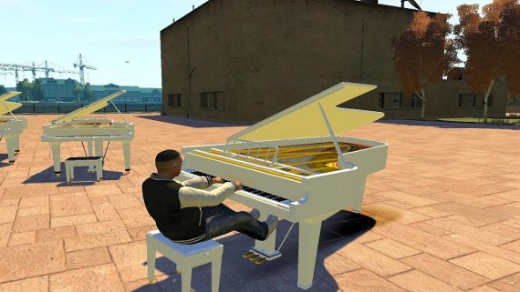 GTA Piano Car