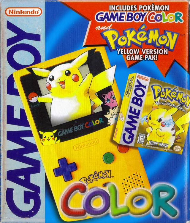 Pikachu Game Boy Color