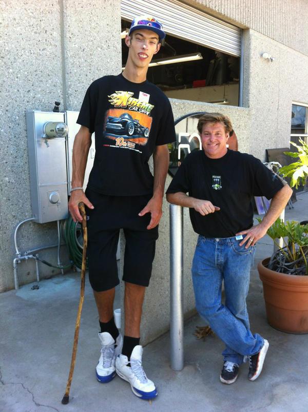 Super Tall Teenage Boy